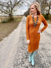 The canyon camel dress