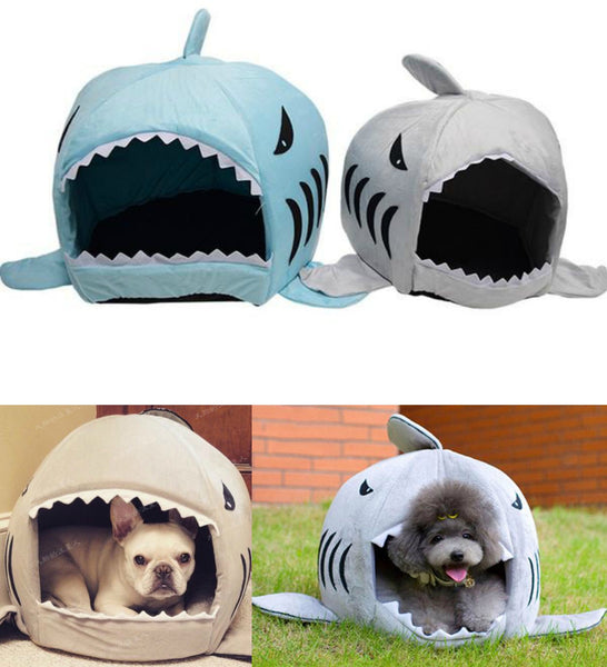 Warm & Cozy Shark Dog House