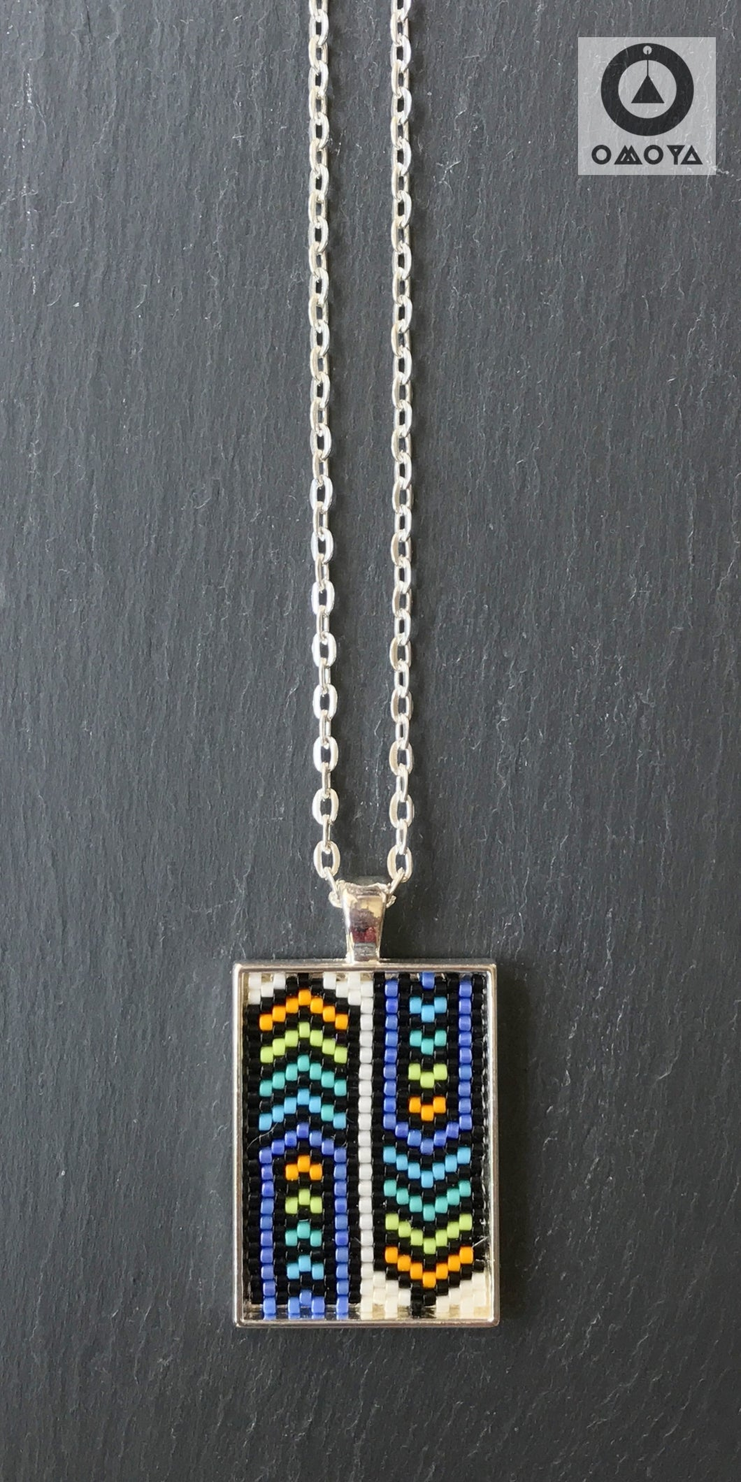 Short Pendant - Chevron
