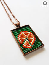 Orange Short Pendant