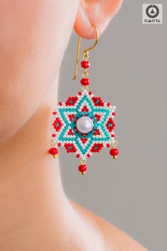 Rangoli Earrings