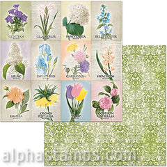 Cottontail Springtime Scrapbook Paper
