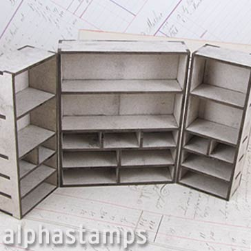 Apothecary Cabinet for Smaller Bottles