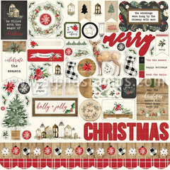 Carta Bella Christmas 12x12 Collection Kit