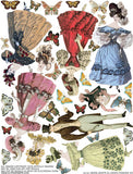 1830s Gents & Ladies Fashion #2 Collage Sheet