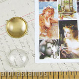 25mm Round Glass Cabochons