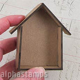 Mini House Shadowbox 2 - 3.25 Tall