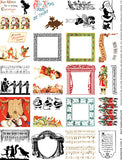 2 Inch Borders Collage Sheet