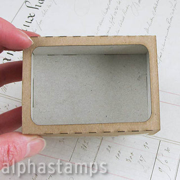 Chunky Matchbox with Window - 2x3
