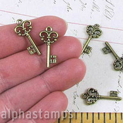 3/4 Inch Lightweight Skeleton Keys