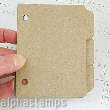 3x4 Tabbed Book