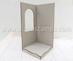 4x4 Corner Room Box with Window