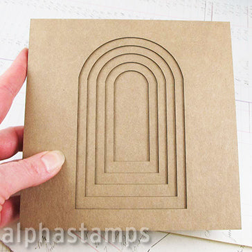 6x6 Arch Tunnel Book