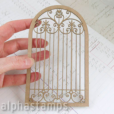 Large Wrought Iron Window Grate