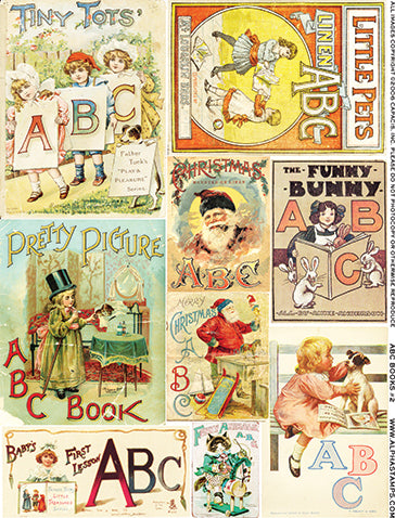 ABC Books #2 Collage Sheet