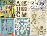 ABC Books #3 Collage Sheet