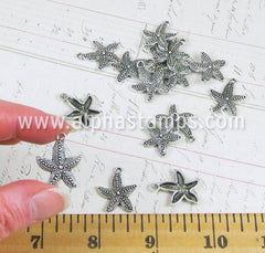 Antique Pewter Starfish Charm*