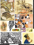 Aesop's Fables - Tortoises & Hares Collage Sheet