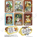 Alice Tarot 3 Collage Sheet Set