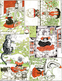 Alice in Green Collage Sheet