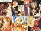 Angel Musicians Collage Sheet