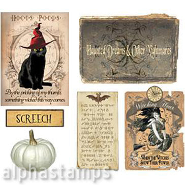 Apothecary Book Spines, Covers & More Set Download
