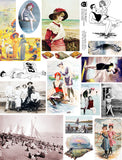 At the Beach Collage Sheet