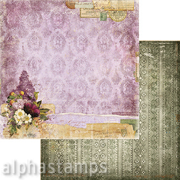 Eclectic Charm Picturesque Scrapbook Paper