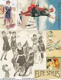 Bathing Costumes Collage Sheet
