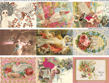 Bird Valentines Collage Sheet