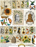 Birds and Bees Collage Sheet