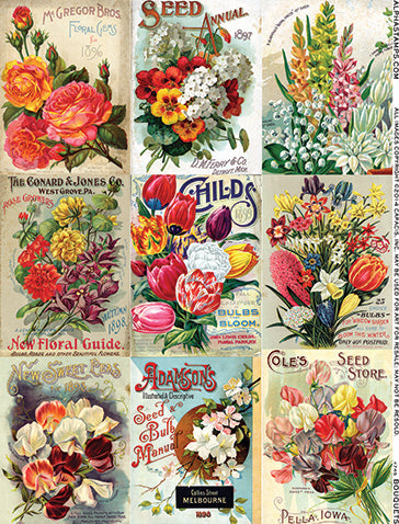 Bouquets Collage Sheet