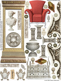 Boutique Exquisite Collage Sheet