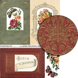 Cabinet Card Frames - Arched Collage Sheet