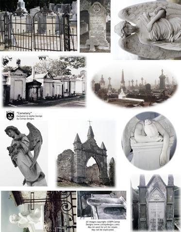 Cemetery Collage Sheet