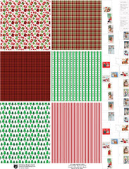 Christmas Wrap & Cards Collage Sheet