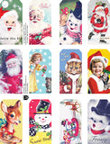 Christmas Tags Collage Sheet
