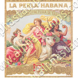Cigar Label Banners Collage Sheet