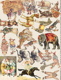 Circus Parade Collage Sheet