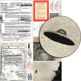 CLASSIFIED UFO Collage Sheet