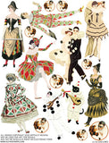 Costumes Collage Sheet