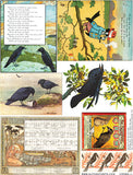 Crows #1 Collage Sheet
