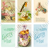Easter Banners Collage Sheet