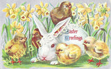 Easter Chicks Collage Sheet
