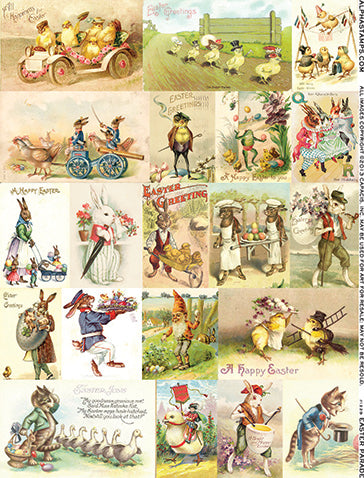 Easter Parade Collage Sheet
