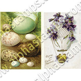 Eggs and Easter Collage Sheet