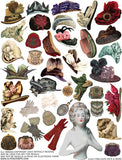 Fabulous Hats & More Collage Sheet