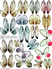 Fairy Wings Collage Sheet