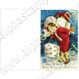 Fairy Cards Advent Calendar Collage Sheet Set