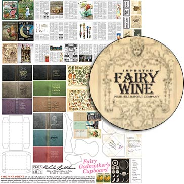 Fairy Godmother's Cupboard Collage Sheet